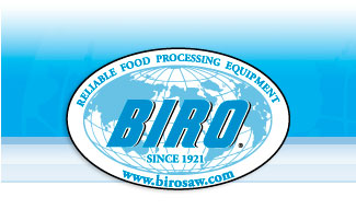 Biro - Since 1921 - Reliable Food Processing Equipment